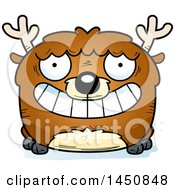 Clipart Graphic Of A Cartoon Grinning Deer Character Mascot Royalty Free Vector Illustration by Cory Thoman