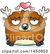 Clipart Graphic Of A Cartoon Loving Deer Character Mascot Royalty Free Vector Illustration by Cory Thoman