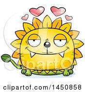 Poster, Art Print Of Cartoon Loving Dandelion Character Mascot
