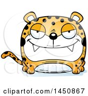 Clipart Graphic Of A Cartoon Sly Leopard Character Mascot Royalty Free Vector Illustration by Cory Thoman