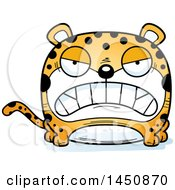 Clipart Graphic Of A Cartoon Mad Leopard Character Mascot Royalty Free Vector Illustration by Cory Thoman