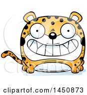 Clipart Graphic Of A Cartoon Grinning Leopard Character Mascot Royalty Free Vector Illustration by Cory Thoman