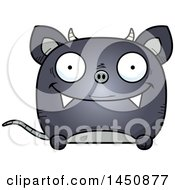 Clipart Graphic Of A Cartoon Happy Chupacabra Character Mascot Royalty Free Vector Illustration by Cory Thoman