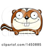 Clipart Graphic Of A Cartoon Happy Chipmunk Character Mascot Royalty Free Vector Illustration by Cory Thoman