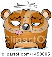 Clipart Graphic Of A Cartoon Drunk Bear Character Mascot Royalty Free Vector Illustration by Cory Thoman
