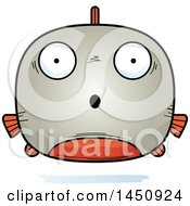 Clipart Graphic Of A Cartoon Surprised Piranha Fish Character Mascot Royalty Free Vector Illustration by Cory Thoman