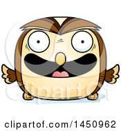 Clipart Graphic Of A Cartoon Happy Owl Character Mascot Royalty Free Vector Illustration by Cory Thoman