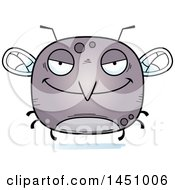 Clipart Graphic Of A Cartoon Evil Mosquito Character Mascot Royalty Free Vector Illustration