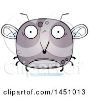 Clipart Graphic Of A Cartoon Surprised Mosquito Character Mascot Royalty Free Vector Illustration