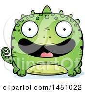Clipart Graphic Of A Cartoon Happy Lizard Character Mascot Royalty Free Vector Illustration by Cory Thoman