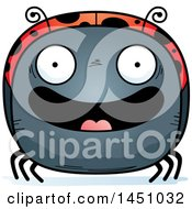 Clipart Graphic Of A Cartoon Happy Ladybug Character Mascot Royalty Free Vector Illustration by Cory Thoman