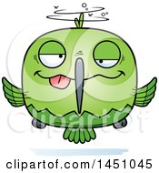 Clipart Graphic Of A Cartoon Drunk Hummingbird Character Mascot Royalty Free Vector Illustration by Cory Thoman