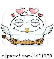 Cartoon Loving Griffin Character Mascot