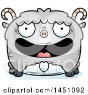 Cartoon Happy Goat Character Mascot