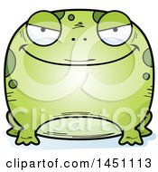 Clipart Graphic Of A Cartoon Evil Frog Character Mascot Royalty Free Vector Illustration by Cory Thoman