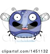 Clipart Graphic Of A Cartoon Happy Fly Character Mascot Royalty Free Vector Illustration by Cory Thoman