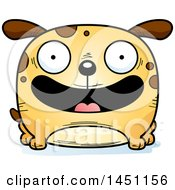 Cartoon Happy Dog Character Mascot