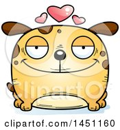 Cartoon Loving Dog Character Mascot