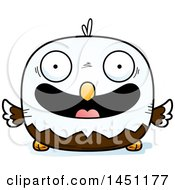 Clipart Graphic Of A Cartoon Happy Bald Eagle Character Mascot Royalty Free Vector Illustration