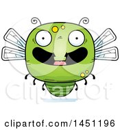 Clipart Graphic Of A Cartoon Happy Dragonfly Character Mascot Royalty Free Vector Illustration by Cory Thoman