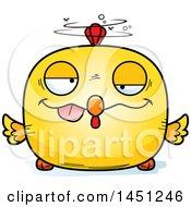 Poster, Art Print Of Cartoon Drunk Chick Character Mascot