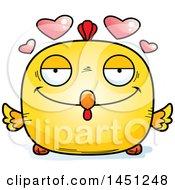 Poster, Art Print Of Cartoon Loving Chick Character Mascot