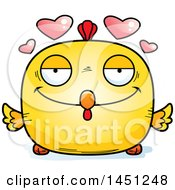Cartoon Loving Chick Character Mascot