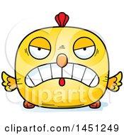 Poster, Art Print Of Cartoon Mad Chick Character Mascot