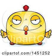 Poster, Art Print Of Cartoon Sly Chick Character Mascot