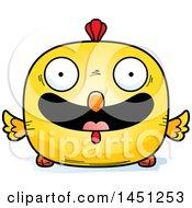 Poster, Art Print Of Cartoon Happy Chick Character Mascot
