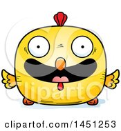 Clipart Graphic Of A Cartoon Happy Chick Character Mascot Royalty Free Vector Illustration by Cory Thoman
