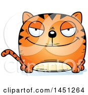 Clipart Graphic Of A Cartoon Evil Tabby Cat Character Mascot Royalty Free Vector Illustration by Cory Thoman