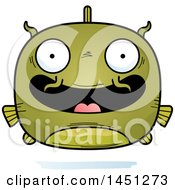 Clipart Graphic Of A Cartoon Happy Catfish Character Mascot Royalty Free Vector Illustration by Cory Thoman