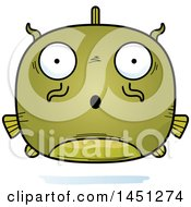 Clipart Graphic Of A Cartoon Surprised Catfish Character Mascot Royalty Free Vector Illustration by Cory Thoman