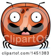 Clipart Graphic Of A Cartoon Happy Ant Character Mascot Royalty Free Vector Illustration by Cory Thoman