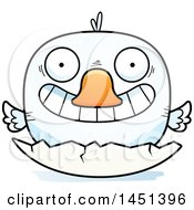 Clipart Graphic Of A Cartoon Hatching Duck Character Mascot Royalty Free Vector Illustration by Cory Thoman