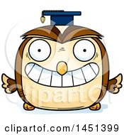 Clipart Graphic Of A Cartoon Graduate Owl Character Mascot Royalty Free Vector Illustration by Cory Thoman