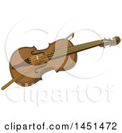 Poster, Art Print Of Bow And Violin Instrument