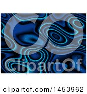 Blue Magical Abstract Background