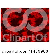Clipart Of A Red Abstract Background Royalty Free Vector Illustration