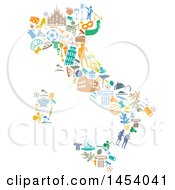 Clipart Of A Royalty Free Vector Illustration by Domenico Condello