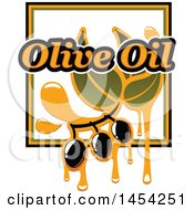 Black Olives And Oil Design
