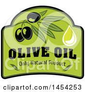Black Olives Design With Text