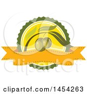 Clipart Graphic Of A Green Olives Design Royalty Free Vector Illustration by Vector Tradition SM