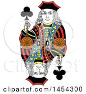 French Styled Jack Of Clubs Design