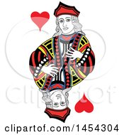 French Styled Jack Of Hearts Design