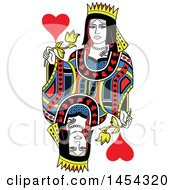 French Styled Queen Of Hearts Design