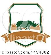 Rhino Hunting Shield