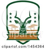 Impala Deer Hunting Shield