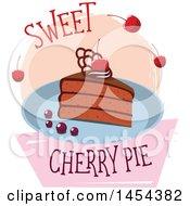 Sweet Cherry Pie Design